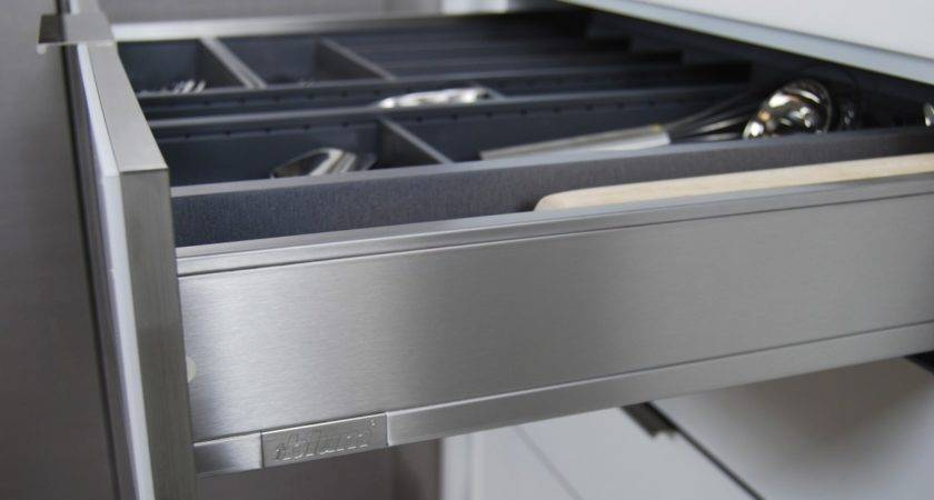 Stainless Steel Drawers Roll Outs Dura Supreme Cabinetry