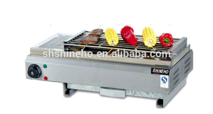 Stainless Steel Outdoor Indoor Barbecue Gas Grill