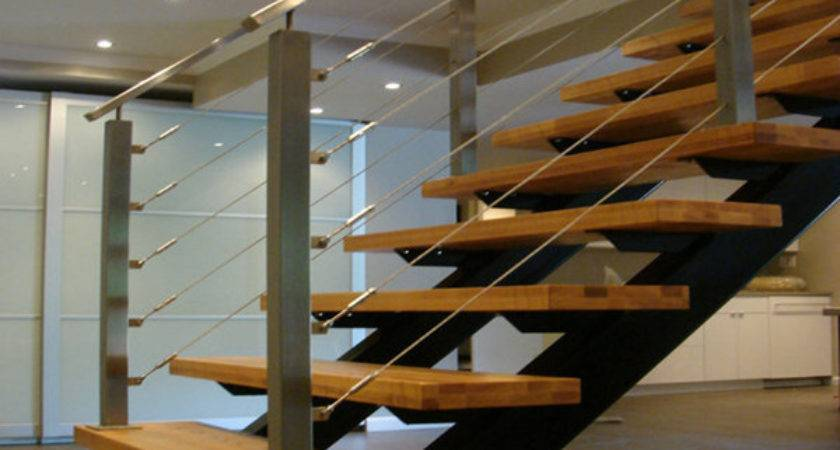 Stainless Steel Staircase Handrails Design Cable Railing