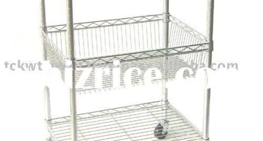 Stainless Steel Utility Cart Taiwan Kitchen Furniture