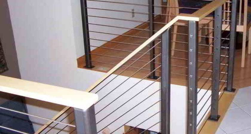 Stair Cable Railing Modern Staircase Other