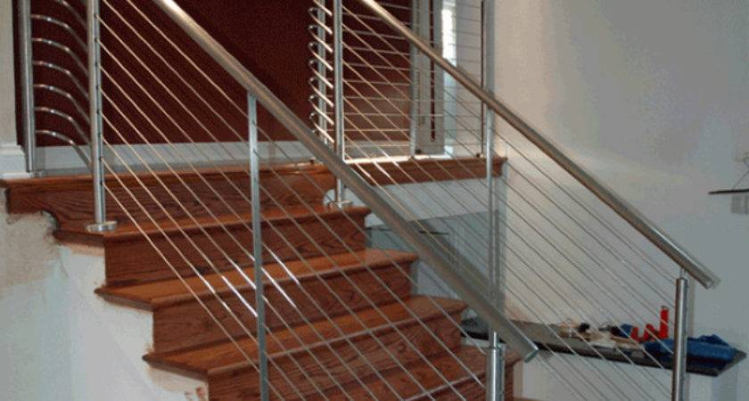 Stair Cable Railing Modern Staircase Ultra Tec