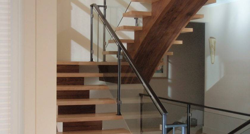 Stair Railing Ideas Staircase Modern Open Chest