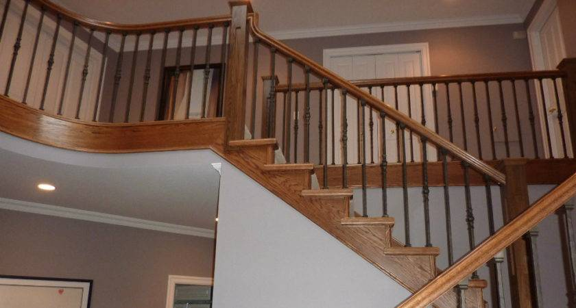 Stair Railings Ellerman Woodworking