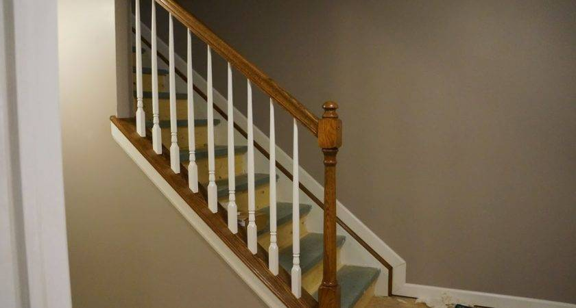 Stair Railings Open Stairs Basement