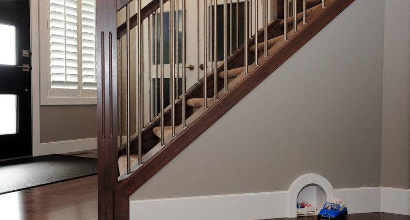 Stair Spindles Contemporary Baseboard Beige