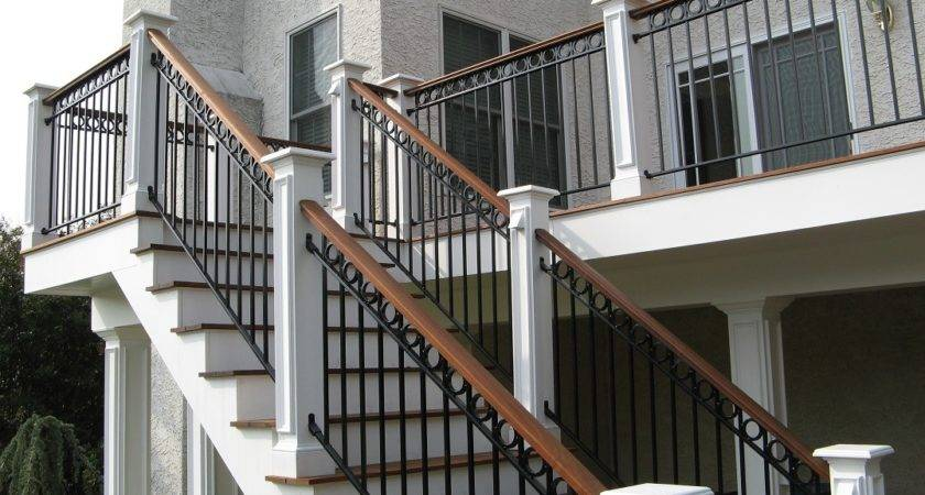 Stairs Amazing Outdoor Hand Railing Astounding Stair