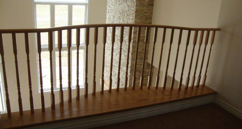 Stairs Inspiring Interior Wood Railings Exciting