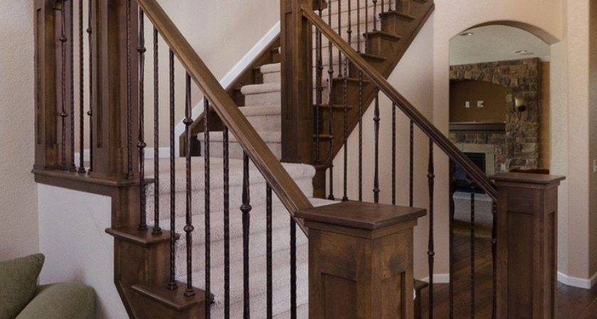 Stairs Outstanding Interior Stair Railing Ideas Indoor