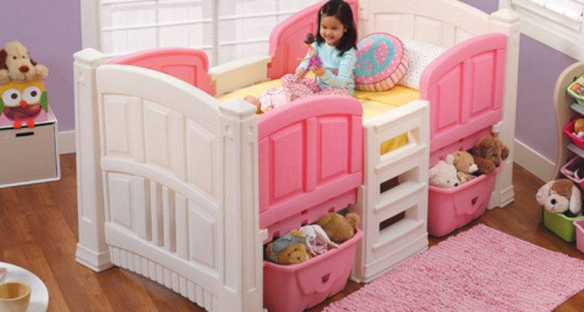 Step Girls Loft Storage Twin Bed Walmart