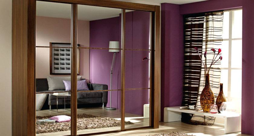 Sterling Sliding Wardrobes Doors Small Mirrored