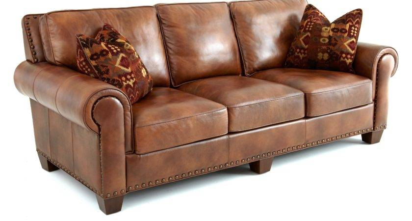 Steve Silver Silverado Leather Sofa Accent Pillows