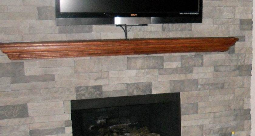 Stone Fireplace Wall Ideas Home Design