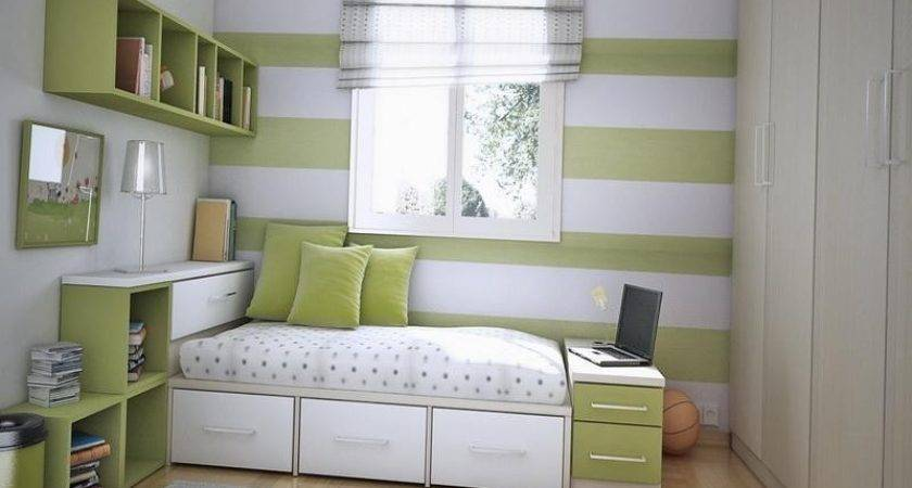 Storage Ideas Small Fresh Bedrooms Decor