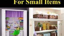 Storage Ideas Small Items Home Life Tips