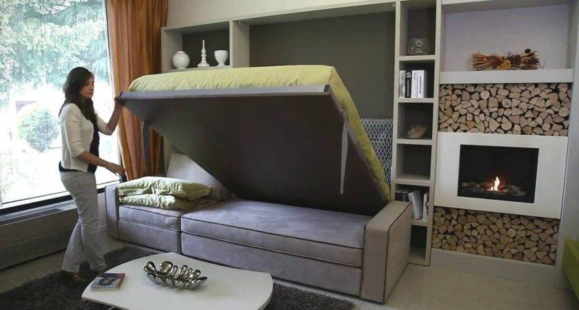 Storage Wall Bed Milano Smart Living Youtube