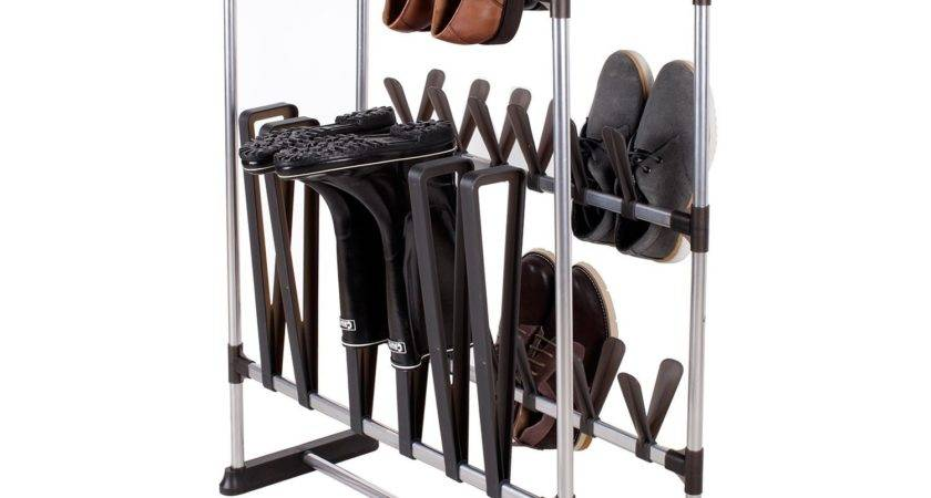 Storagemaniac Shoes Boots Shoe Rack Multifunctional