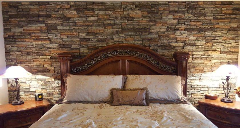 Stunning Bedroom Accent Wall Creative Faux Panels