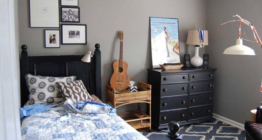 Stunning Boys Room Paint Grey Wall Color Ideas