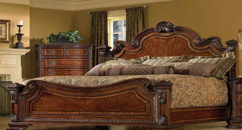 Style Bed English Victorian Bedroom Vintage