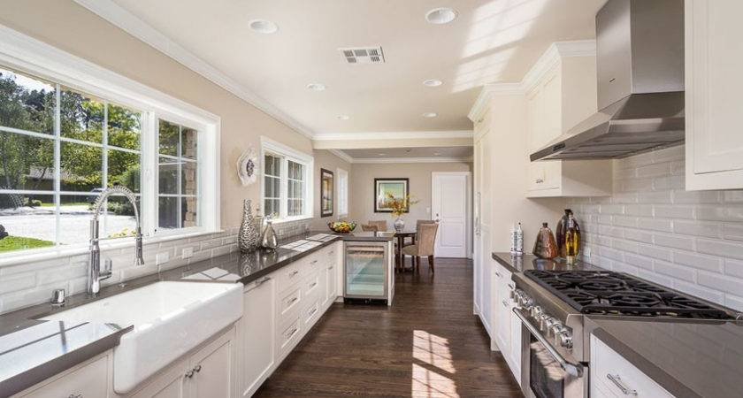 Stylish Galley Kitchen Designs Designing Idea