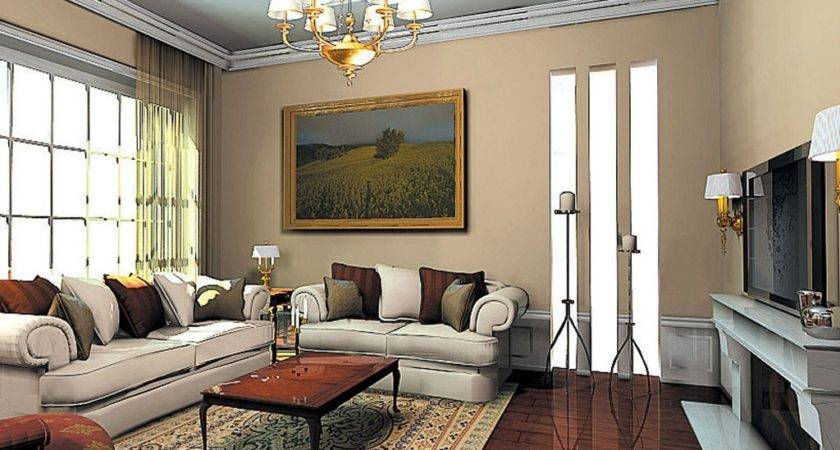 Stylish Living Room Furniture White English Rolled
