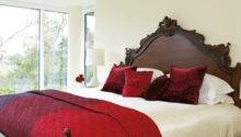 Stylish Red Cream Bedroom Ruby Ideas