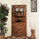 Sunny Designs Dining Room Sedona Corner China Cabinet
