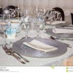 Table Set Photography