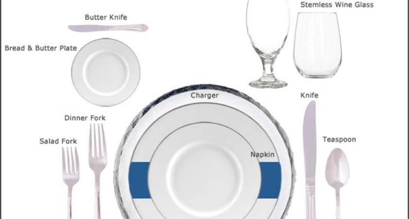 Table Setting Guides Our Party Rental Store San Jose