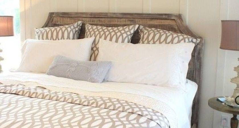 Taupe Greige White Neutral Cutout Design Bedroom Think