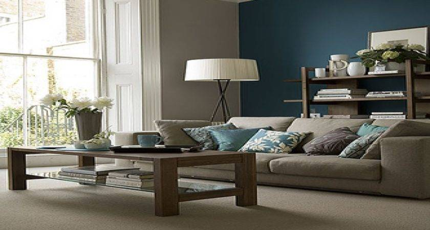 Taupe Painted Rooms Teal Gray Design