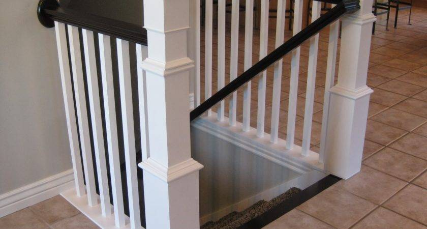 Tda Decorating Design Diy Stair Banister Tutorial