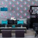 Teal Black White Living Room Ideas Modern House