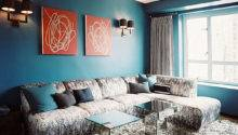 Teal Blue Living Room Decoist