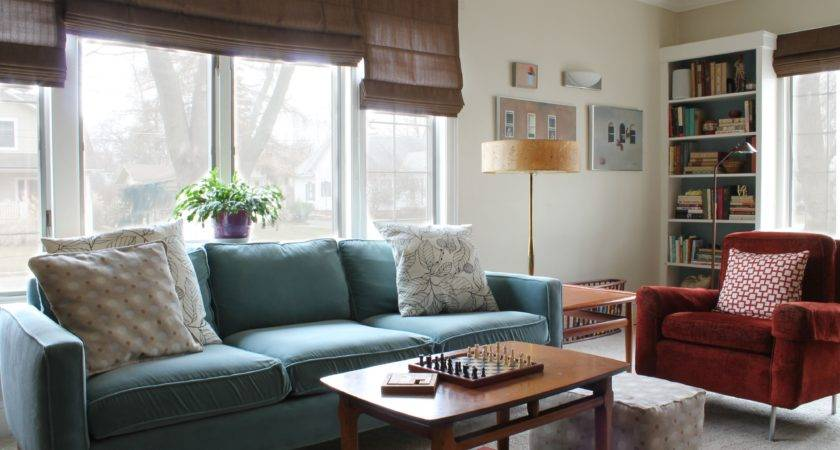 Teal Brown Living Room Gorgeous Inspiration
