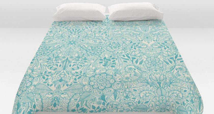 Teal Cream Duvet Covers Mapo House Cafeteria