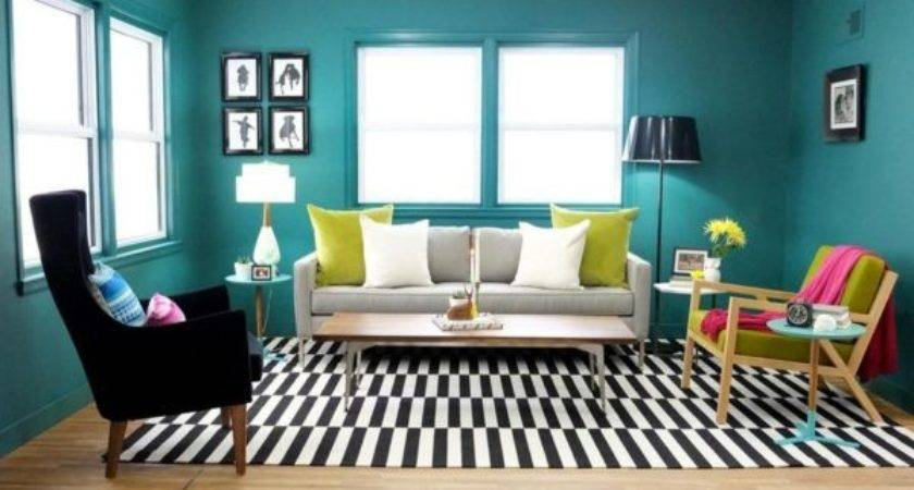 Teal Living Room Accessories Ideas