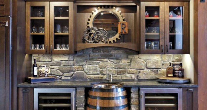 These Basement Bar Ideas Perfect Man Cave