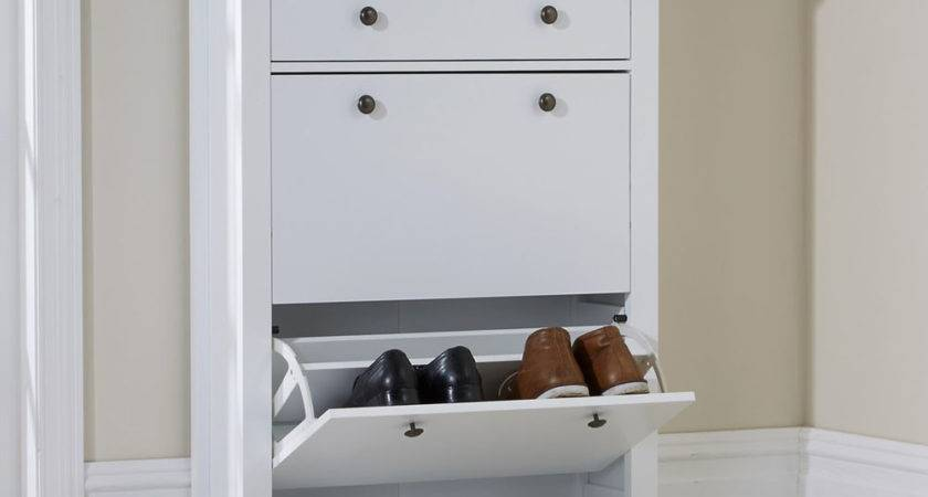 Tiered White Shoe Cabinet Next Day Delivery