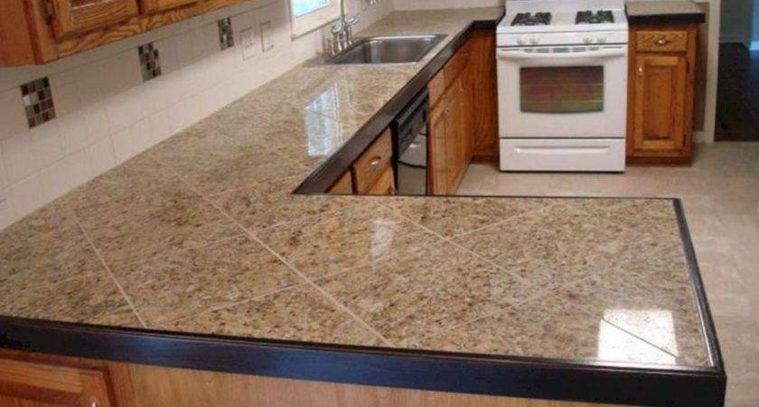Tile Kitchen Countertop Ideas
