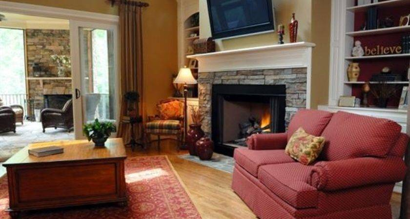 Tips Decorate Living Room Corner Fireplace Home