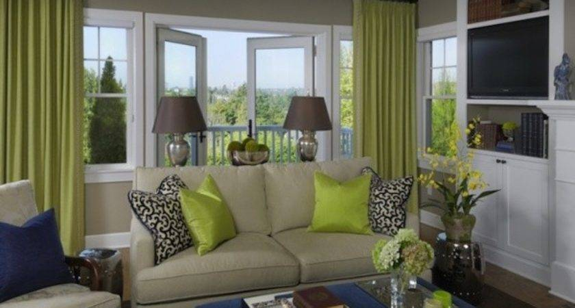 Tips Decorate Room Green Grey Color Home
