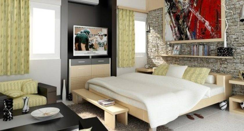 Tips Designing Cosy Studio Type Rooms Home Design Lover