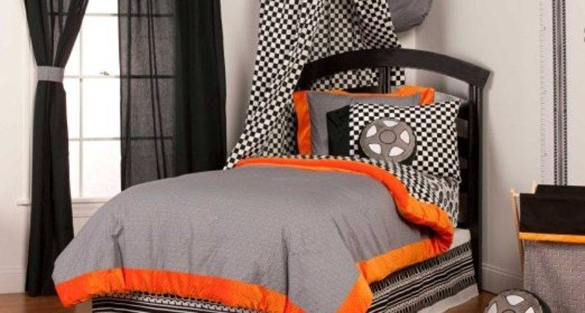 Total Fab Black White Checkered Comforters Bedding Sets