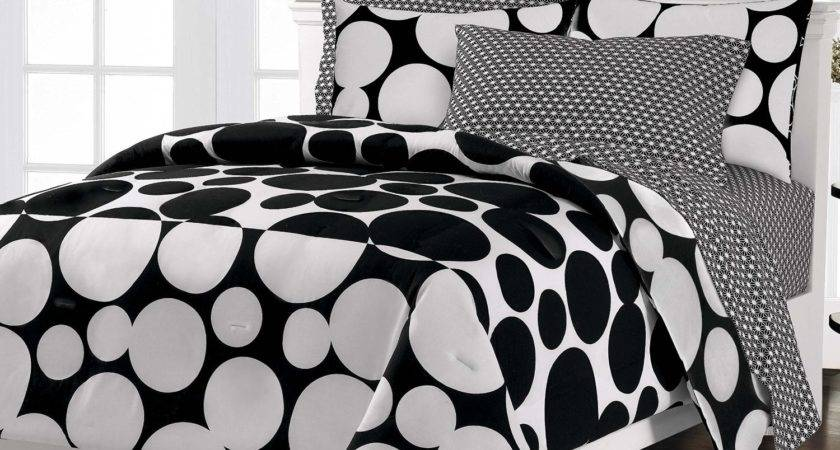 Total Fab Black White Teen Bedding