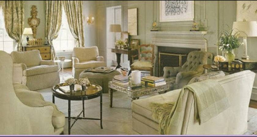 Traditional French Country Home Living Room Modern