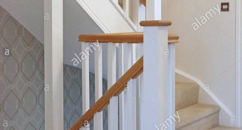 Traditional Timber Staircase Banisters New Three