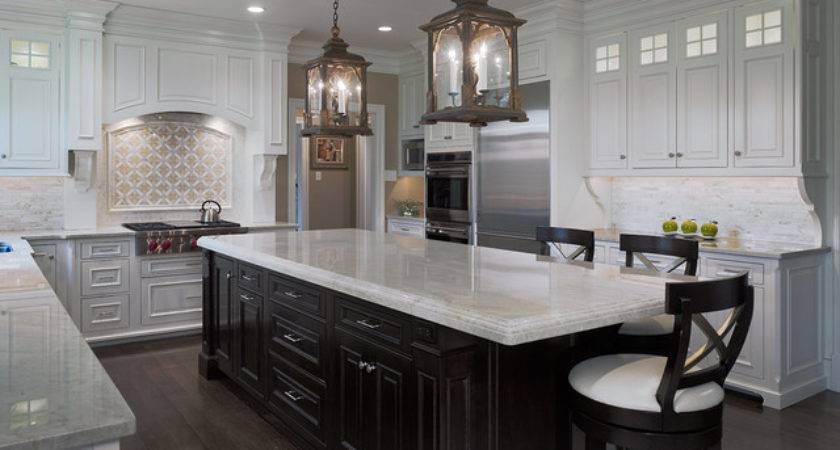 Transitional White Kitchen Saint Davids