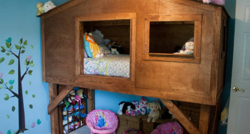 Treehouse Bed Kids Amy Bennett